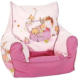 Festnight Kindersessel Sessel Babysessel Kinderm/öbel Kindersofa 44 x 53 x 36 cm Blumenmuster f/ür Spielzimmer oder Schlafzimmer