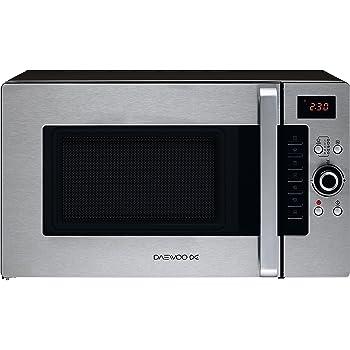 Daewoo KOC9Q4T Hob 28L 900 W Stainless Steel - Microwave ...