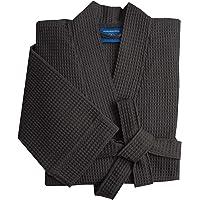 Morgenstern Men Dressing Gown I Waffle 100 % Cotton I Light I Kimono