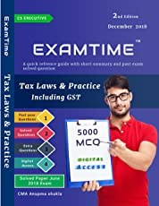 Law books buy books on law online at best prices in india amazon examtime 5000 mcq on tax laws and practice by cma anupama shukla for cs executive dec fandeluxe Choice Image