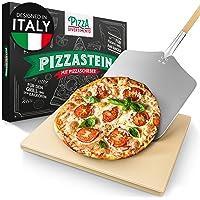 Pizza Divertimento pietra refrattaria per pizza da forno - Con pala per pizza - Cuoci pizza in pietra di cordierite…