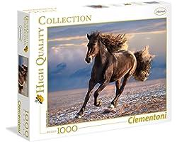 Clementoni 39420 Yetişkin Puzzle Free horse 1000 Parça