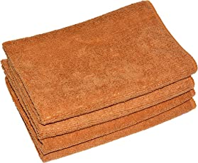 NEERAK Ultra Premium Super Absorbent Extra Thick Multipurpose Microfibre Cloth for Car Cleaning, Kitchen, Bike, laptop, LED TV, Mirrors, Office, Hotels, Bathrooms, Furniture and many more. Microfiber cloths - Set of 4 Pcs (40 x 40 CM)
