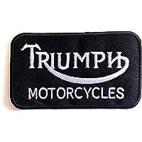 Finally Home animale con casco toppa da uomo toppa da motociclista toppa da uomo da applicare con il ferro da stiro per gilet in pelle toppa nera da motociclista toppa da moto