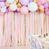 Ginger Ray Festbakgrund med luftormar och ballong, pastellfärger