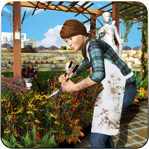 Virtuell Zuhause Garten Dekoration Garten Spiele Gartenarbeit Scapes Familie Spiel