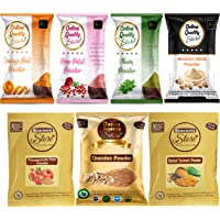Online Quality Store face pack for glowing skin and pimples combo pack of :-( Multani Mitti 100g,Chandan Powder 50g…