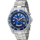 Akribos XXIV Multifunction Men's Blue Stainless Steel Band Watch - AK955SSBU, Analog