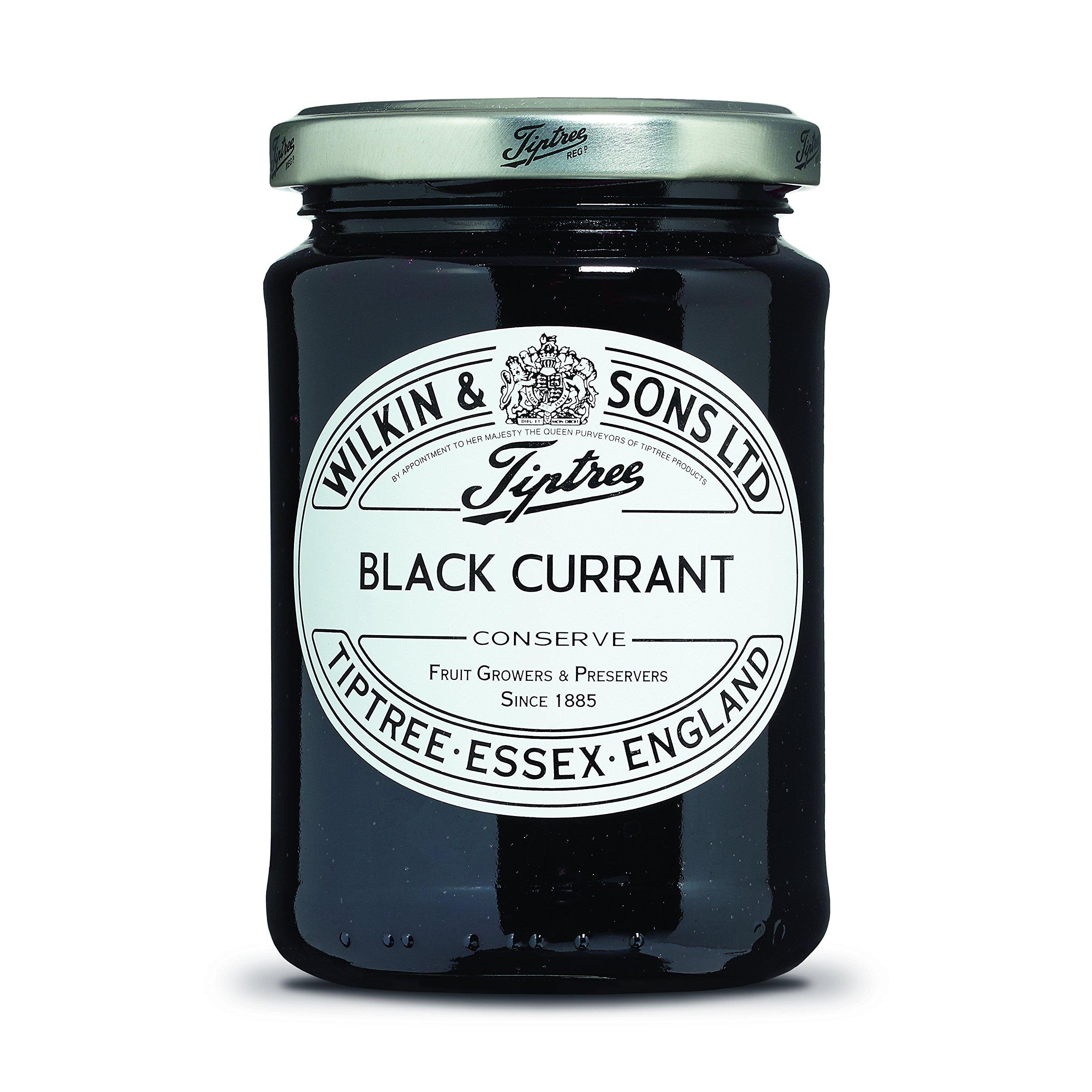 Wilkin & Sons Tiptree Black Currant Conserve - 3 confezioni da 340 g