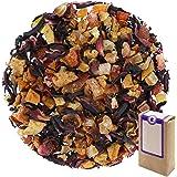 "N° 1385: Tè alla frutta in foglie ""Luna Rossa"" - 250 g - GAIWAN® GERMANY - tè in foglie, mela, papaya, ibisco, rosa canina, f"