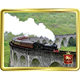 Stewart's The Jacobite on Glenfinnan Viaduct Tin | Tartan Collection | Luxury | Scottish Shortbread Rounds| Biscuits | Collec