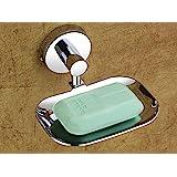 iSTAR Stainless Steel Anti Rust Corrosion-Free Soap Holder (Medium, Silver Finish)