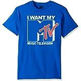 Nickelodeon MTV Uomo MTVN0005-10001001-B T-Shirt - Blu - 3XL