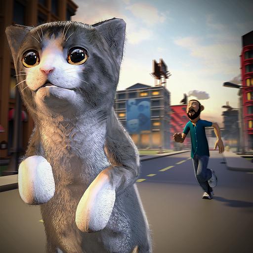 heim Flucht & Katzenrettungssimulator 3D ()