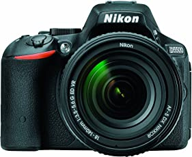 Nikon D5500 DX-Format Digital SLR with 18-140mm VR Kit (Black), CAMERA BAG with 16GB Class10 Memory Card