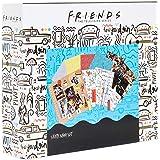 Friends Album de Manualidades, Kit de Scrapbooking Materiales con Pegatinas, Bolígrafos Gel, Sellos de Madera, Botes de Purpu