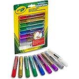 Crayola - Colle Glitter in tubetto, lavabili, 9 colori assortiti, per scuola e tempo libero, 69-3527