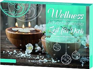 """Roth 10043 Wellness-Advetnskalender """"Zeit für Dich"""" Adventskalender, Großes Sortiment aus Verschiedenen Materialien, Bunt, 50 x 35 cm"""