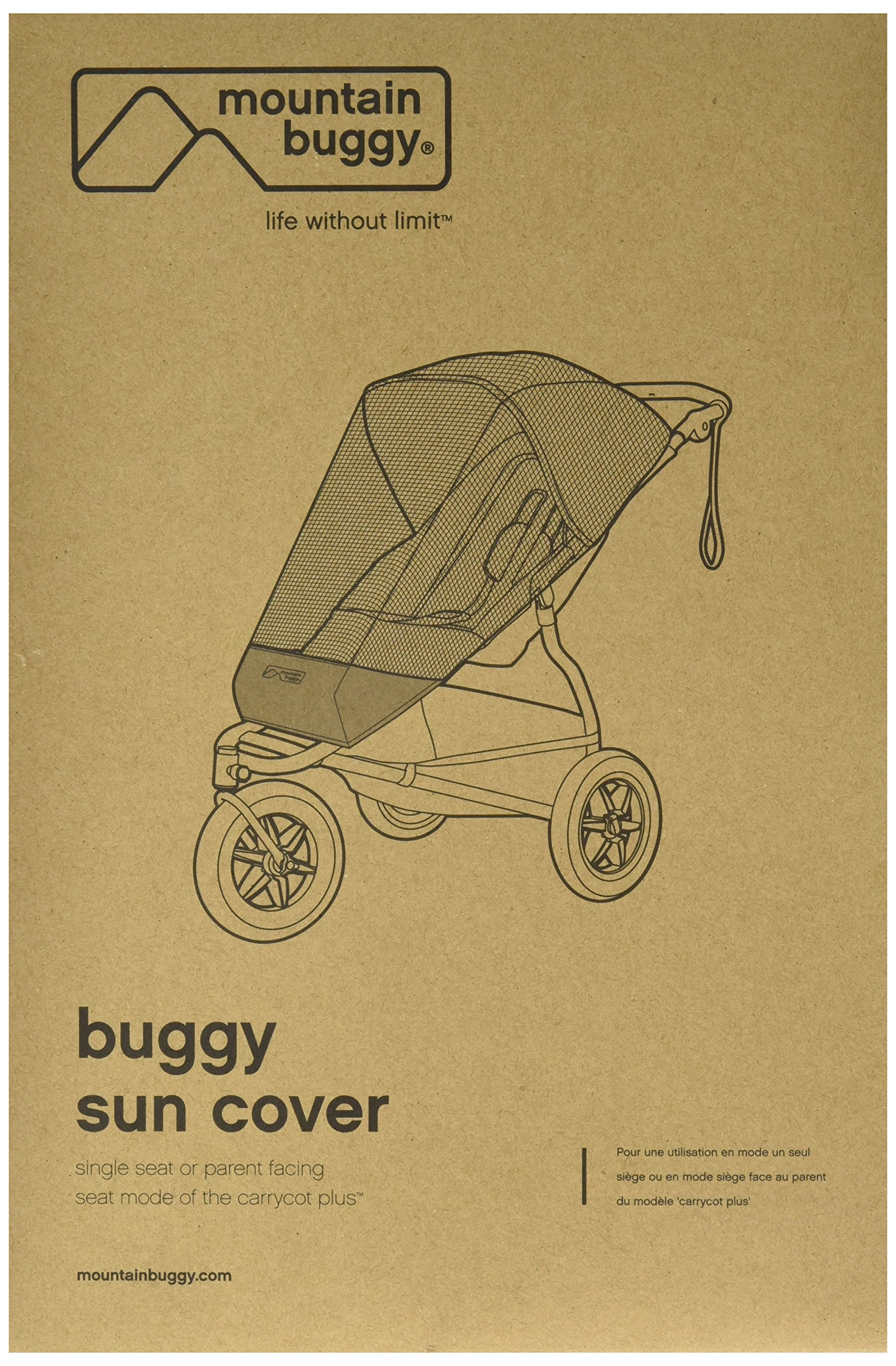 Mountain Buggy Sun Mesh for Urban Jungle and Terrain Mountain Buggy Shelters baby from  light wind, bugs and light Durable and hard wearing Easy to access child with zip opening front 1