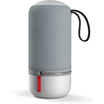 Libratone Zipp Mini 2 - Enceinte Sans Fil Bluetooth (Intégration Alexa, Son 360°, WiFi, AirPlay 2, 10h d'autonomie) - Frosty Grey