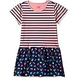Amazon Brand - Jam & Honey Girl's Cotton Skater Knee-Length Dress