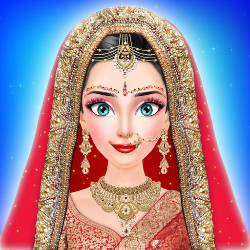 Royal Indian Girl Fashion Salon For Wedding - Stylist Salon Game - Wedding salon free game for girls (Sarees Bridal Designer)