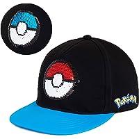 Pokémon Cappello con Visiera per Bambino, Berretto Pokeball Merchandise Ufficiale, Cappellino da Baseball Estivo per…
