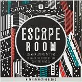 Talking Tables Tema Escape Room spel hemma | spel natt | interaktivt slut | för födelsedagsfest, efter middag, jul, gåva, hos