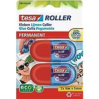 Tesa 59820 - Pack de 2 mini rollers de colle, 598200000000