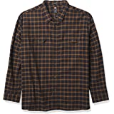 Dickies Men's Long Sleeve Flex Flannel Shirt Button