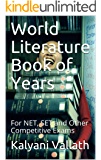 World Literature Book of Years: For NET, SET and Other Competitive Exams