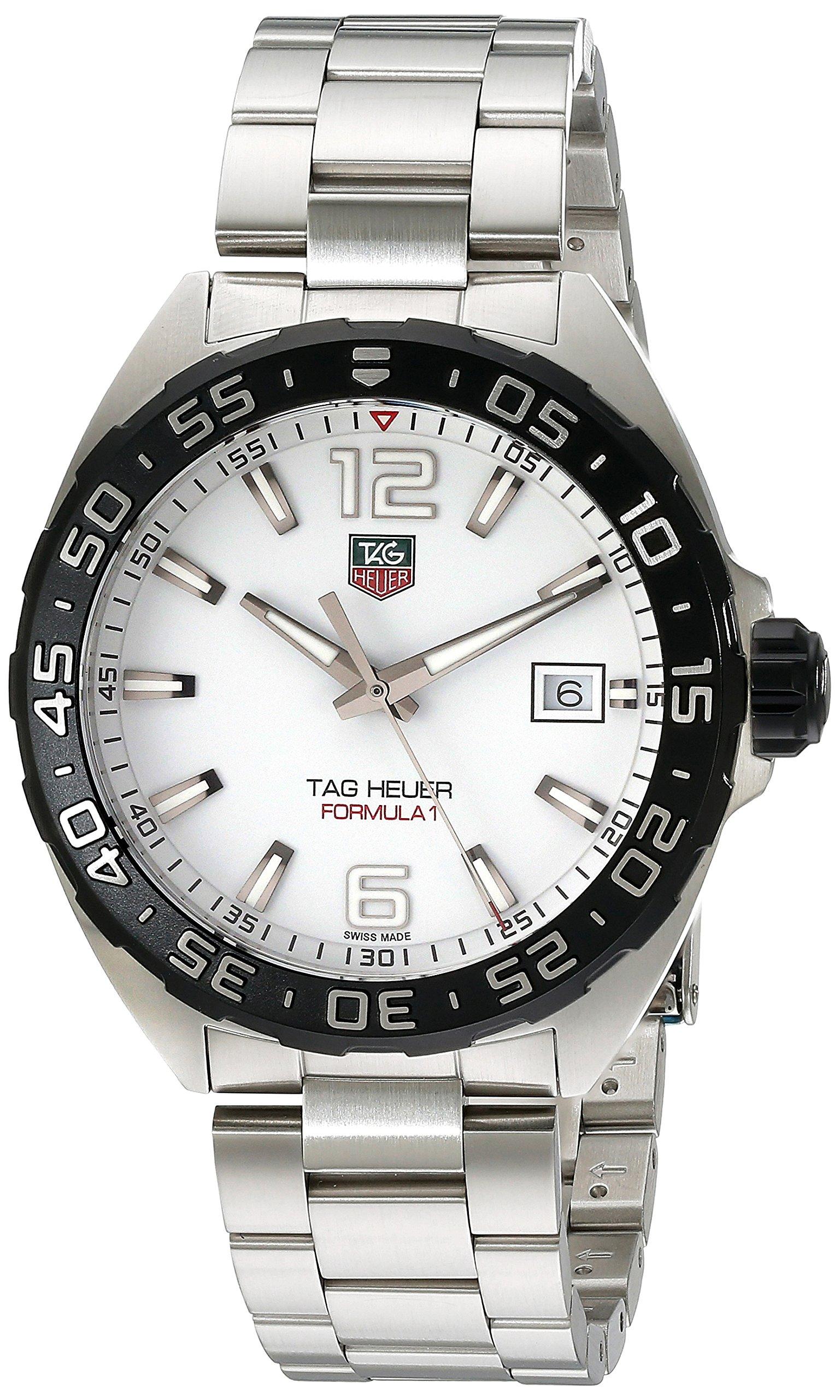 TAG-Heuer-Formula-1-Reloj-Reloj-de-pulsera-Masculino-Acero-Acero-pulido-Acero-Acero-inoxidable
