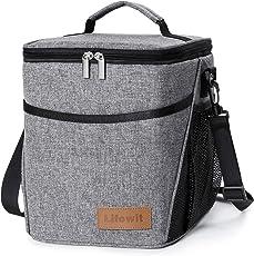 Lifewit 9L Kühltasche Kühlbox Lunchtasche Mittagessen Tasche Thermotasche Isoliertasche Picknicktasche für Lebensmitteltransport
