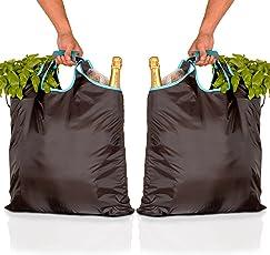 gripONE - der clevere Tragegriff für Einkaufstaschen, Tüten und vielem Mehr - mit Integrierter LED Taschenlampe und Einkaufswagenchip