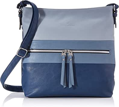 TOM TAILOR Schultertasche Damen, Ellen, 30x8x30 cm, Handtasche, Shopper