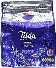 TILDA Pure Basmati / Basmati Reis / Basmatireis / Pure Original Basmati, 1er Pack (1 x 5 kg Packung)