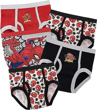 Boxer Corti Mutande in Cotone 100/% Confezione Multipla da 5 Biancheria Intima per Bambini 3 a 6 Anni Disney Mickey Mouse Mutande per Bambino Slip