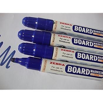 Whiteboard Drywipe Marker Pens Bullet Tip  Blue