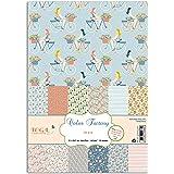 Toga 36 feuilles A4 imprimées Oh La La, Papier, Multicolore, non applicable