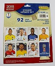 Panini FIFA World Cup Russia 2018 - Update-Set mit 96 Stickern