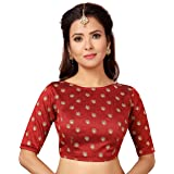 STUDIO Shringaar Readymade Saree Blouse With All Over Embroidery