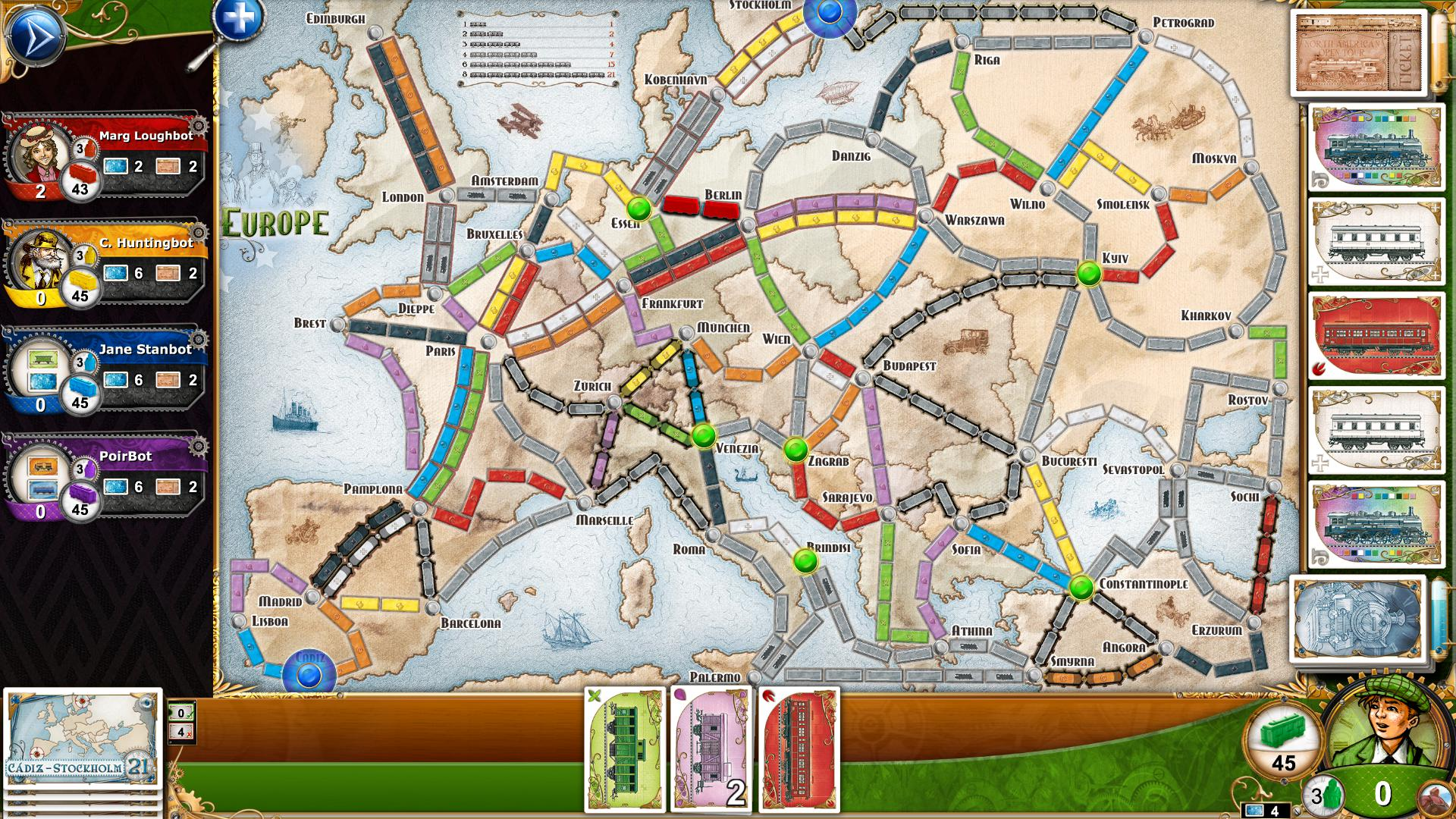 Ticket to Ride - 14
