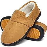 Mishansha Pantofole Uomo Ciabatte Invernali Memory Foam Pantofole Gr.39-46