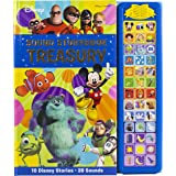 Disney Mickey Mouse, Minnie, Toy Story, and More! - Sound Storybook Treasury Board Book 39-Button Sound Book - PI Kids