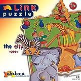 "chelona Wooden Puzzle City Puzzle 21103 """"Zoo"""""""