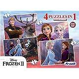 Frank Frozen 2 4 Puzzles in 1
