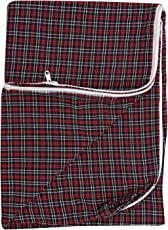 Mattress covers pack of 2 (cotton with chain/zip)