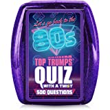 Top Trumps 1980s Quiz Card Game-Let's Go Back to The 80s
