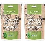 Nourish Organics Honey Roasted Almonds, 100g (Pack of 2)
