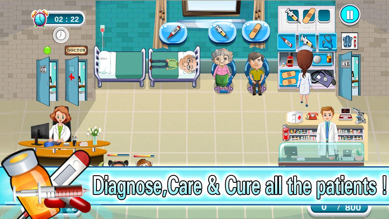 Kostenlose Krankenhaus Spiele
